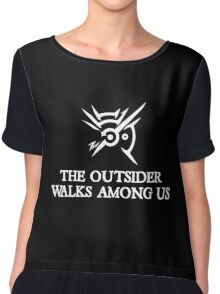Dishonored - The Outsider walks among us Chiffon Top