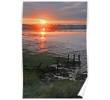 Holes Bay Sunset Poster