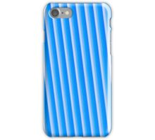 Blue metal background iPhone Case/Skin