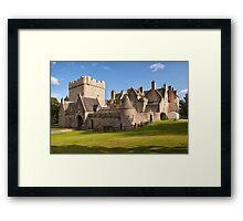 Drum Castle Framed Print
