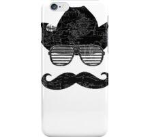 Hipster Cowboy Kanye Glasses iPhone Case/Skin