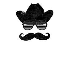 Hipster Cowboy Kanye Glasses by Benchstar