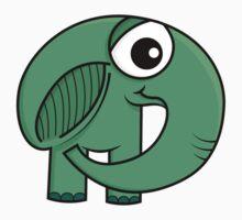 Un éléphant ça trompe énormément! Kids Tee