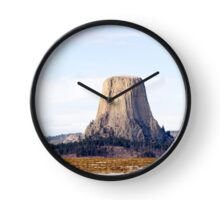 Wyoming WY USA, Devil's Tower National Monument Clock