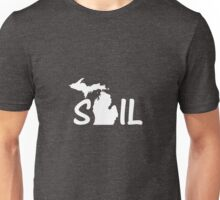 Sail Michigan Sail-Boat Sailing Lake Unisex T-Shirt