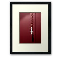 WC pull Framed Print