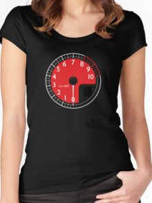 Red Enzo's RPM Women's Fitted Scoop T-Shirt