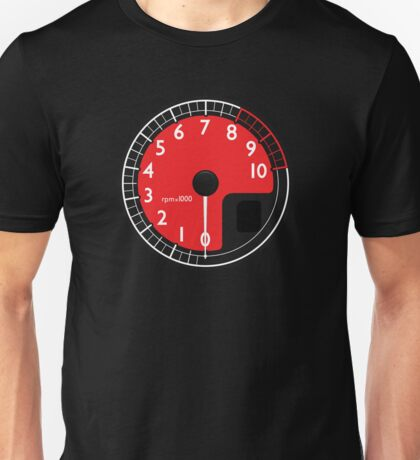 Red Enzo's RPM Unisex T-Shirt