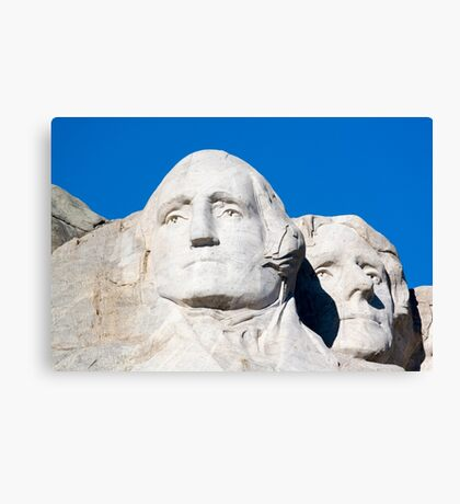 South Dakota SD USA, Mount Rushmore National Monument Canvas Print