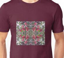 Holly Berry Photo Fractal 802-B Unisex T-Shirt