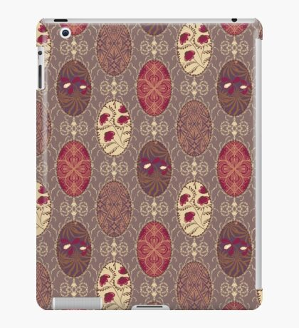 Patchwork seamless floral abstract pattern texture background iPad Case/Skin
