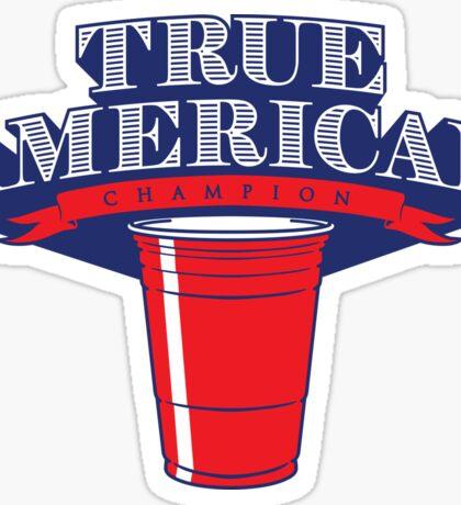 True American Champion (Variant) Sticker