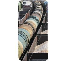 transportation of oil products by rail iPhone Case/Skin