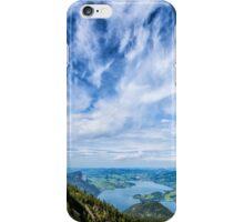 Hiking in Austria iPhone Case/Skin