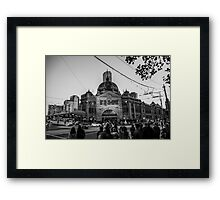 Flinders Street Station 2016 Framed Print