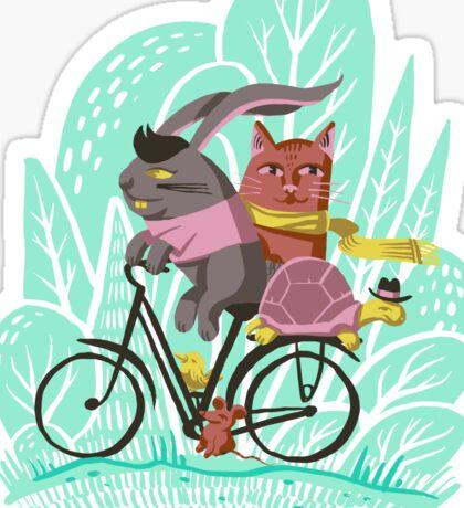 Ride Along Sticker