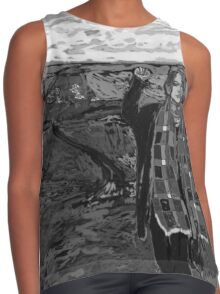 Stand with Standing Rock Black and White Contrast Tank