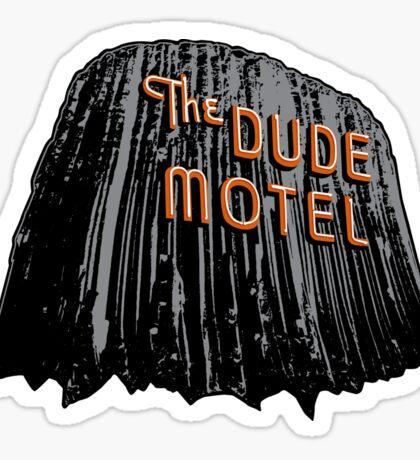 The Dude Motel – Devil's Tower Edition Sticker