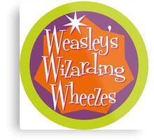 Weasley's Wizarding Wheezes logo Metal Print