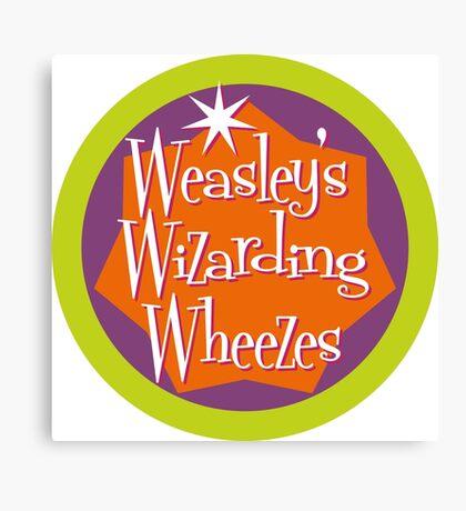 Weasley's Wizarding Wheezes logo Canvas Print
