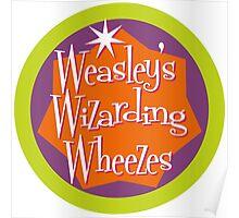 Weasley's Wizarding Wheezes logo Poster