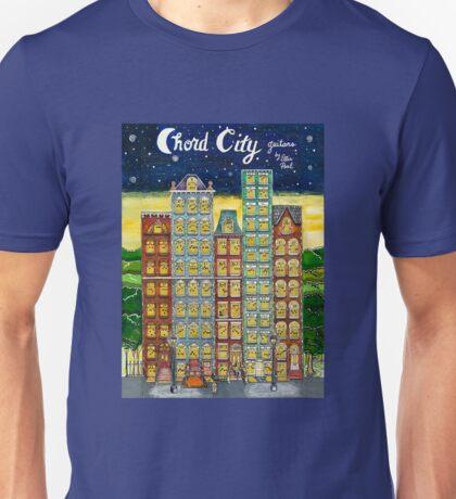 Chord City by Ellis Paul Unisex T-Shirt