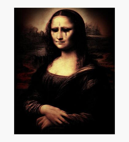 Moaning Lisa Photographic Print