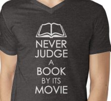 By Its Movie Mens V-Neck T-Shirt