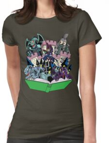 World of Toons Womens Fitted T-Shirt