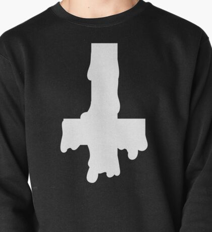 Melty Inverted Cross Pullover