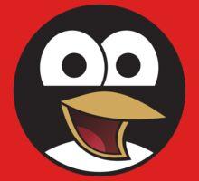 Linux Angry Tux Kids Tee