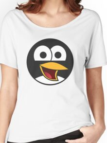 Linux Angry Tux Women's Relaxed Fit T-Shirt