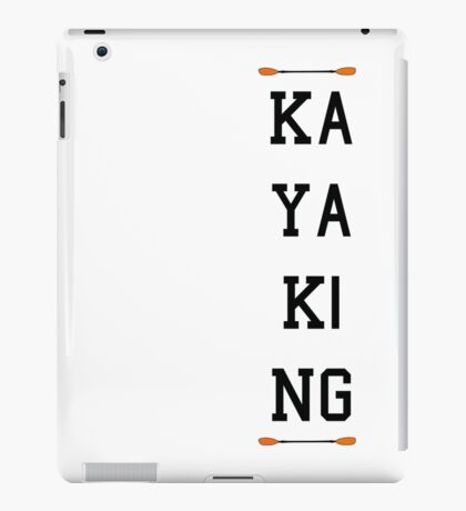 Kayaking Fun iPad Case/Skin