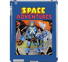 Space Adventures vintage iPad Case/Skin