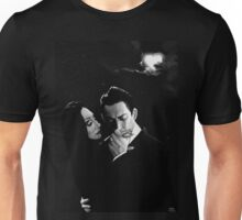 Gomez and Morticia Addams Unisex T-Shirt