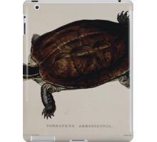 Tortoises terrapins and turtles drawn from life by James de Carle Sowerby and Edward Lear 023 iPad Case/Skin