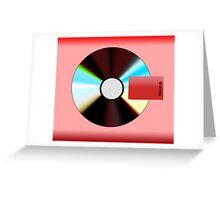 Flat Yeezus Album Art  Greeting Card