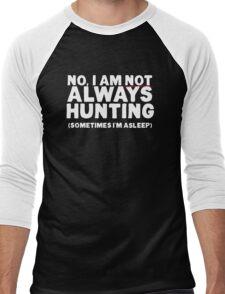 Hunting T Shirt for Men who Hunt, are Hunters Men's Baseball ¾ T-Shirt