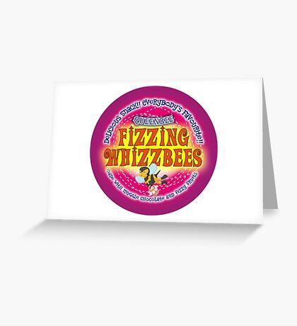 Fizzing Whizzbees Greeting Card