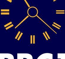 BBC1 Clock - 1970s Sticker