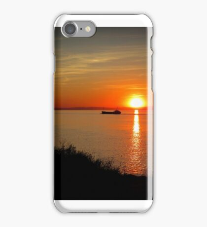 Sunset at Battery point iPhone Case/Skin
