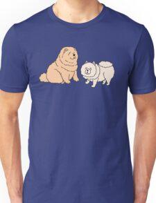 Chow Chow Dog Couple Unisex T-Shirt