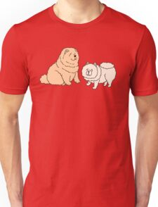 Chow Chow Dog Couple Unisex T-Shirt
