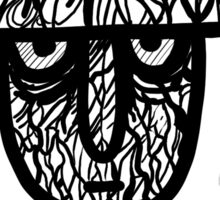 Mob Psycho 100 - Lord Psycho Helmet Sticker