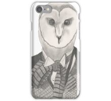 Doctor Whoot iPhone Case/Skin