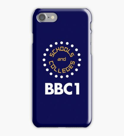 BBC1 Schools and Colleges - 1970s iPhone Case/Skin