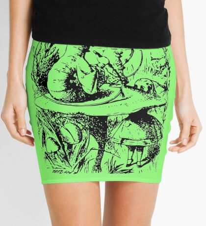 Caterpillar  Mini Skirt