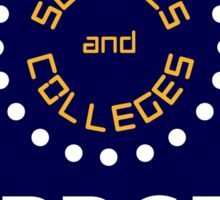BBC1 Schools and Colleges - 1970s Sticker