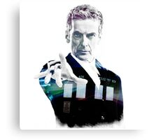 Peter Capaldi - Doctor Who Canvas Print