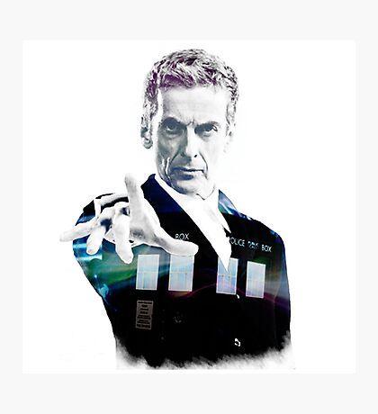 Peter Capaldi - Doctor Who Photographic Print